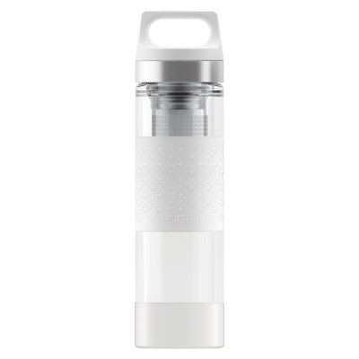 SIGG Hot & Cold Glass WMB White 0,4 L