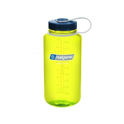 Nalgene Wide Mouth Safety Yellow/Black 1 L