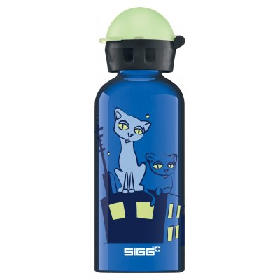 SIGG Kids Glow Night Cats 0,4 L