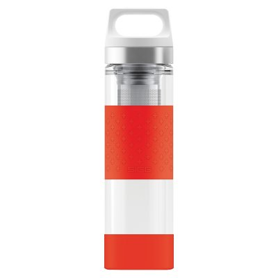 SIGG Hot & Cold Glass WMB Red 0,4 L