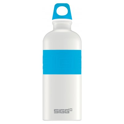 SIGG CYD Pure White Touch Blue 0,6L
